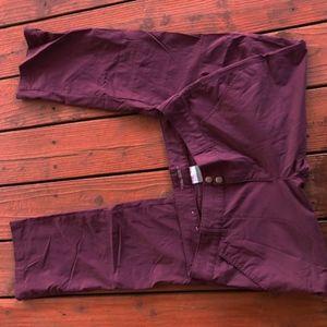 Columbia Womens Saturday Trail Pants Sz 12 Long